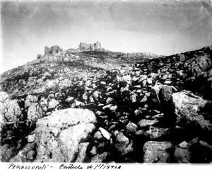 Castello di Plistia ad inizio '900