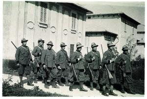Guardiaparco in divisa storica (foto PNALM)