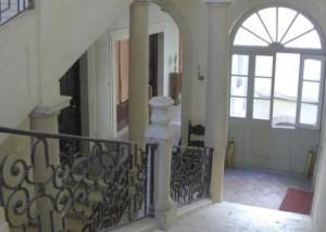 Palazzo Sipari, vano scala al primo piano (foto Fondazione Sipari)