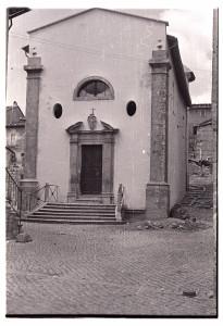 bianco e nero della Chiesa del Carmelo (foto PNALM)