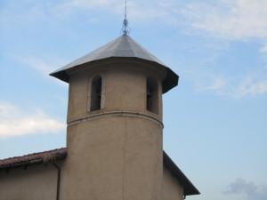 campanile della chiesa del Carmelo dal retro (foto Stefano Dark)