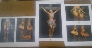 crocifisso della chiesa del Carmine prima del restauro del 6-7-2013 (foto Stefano Dark)