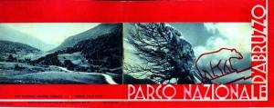 depliant del 1933 sul Parco nazionale d'Abruzzo