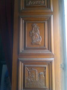 portale della chiesa del Carmine (foto Stefano Dark)