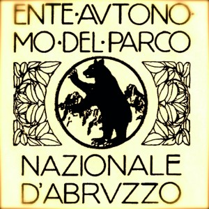 primo emblema del Parco nazionale d'Abruzzo